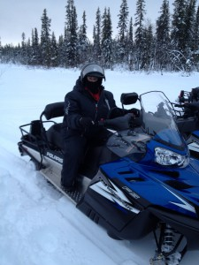 Snowmobilin' Mama.